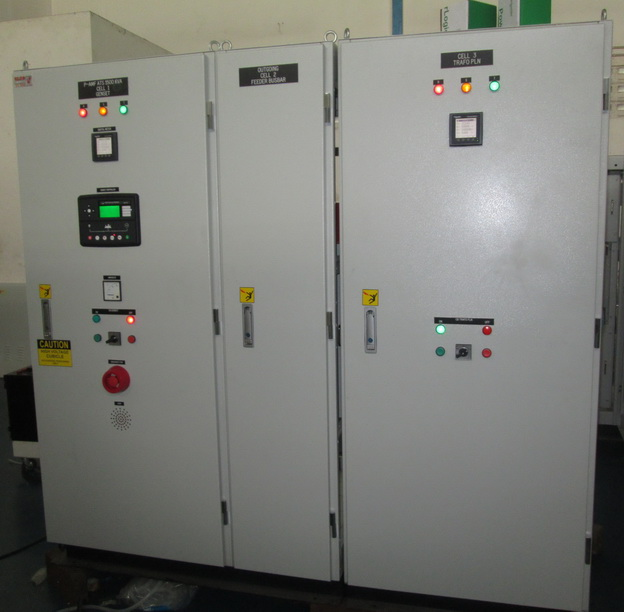 P - AMF ATS<br/>(Automatic Mains Failure and<br/> Automatic Transfer Switch)